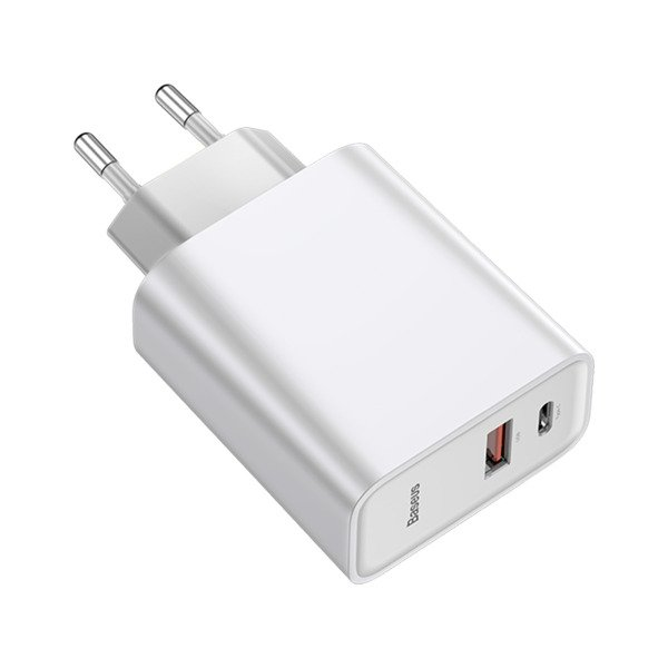 Baseus Speed PPS 30W Ładowarka sieciowa Quick Charge 3.0 PD3.0 Huawei Super Charge 5A + kabel Type C