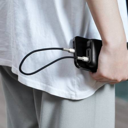 Baseus Cafule Metal    Кабель USB-C Lightning для iPhone 12 Power Delivery 20W
